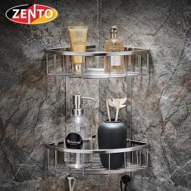 Giá góc 2 tầng inox304 Zento HB1181