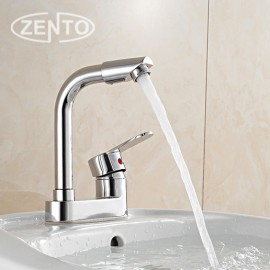 Vòi chậu rửa nóng lạnh Zento ZT2023