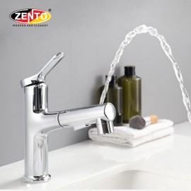 Vòi lavabo nóng lạnh Pull down Spray ZT2131-1C (innovation gargling spout)