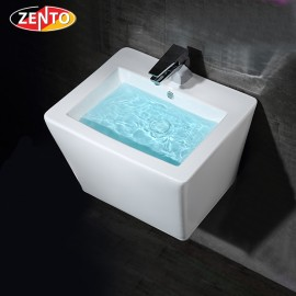 Chậu lavabo treo tường Luxury Zento LV500C