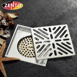 Thoát sàn chống mùi và côn trùng Zento ZT576 (120x120mm)