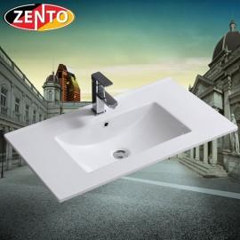 Chậu lavabo âm bàn Zento E876
