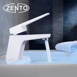 Vòi chậu rửa nóng lạnh mạ sứ Soft Closing Zento ZT2082