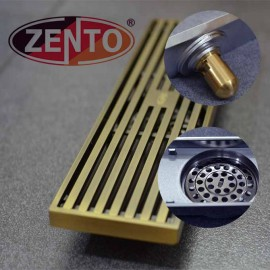 Thoát sàn chống mùi và côn trùng Zento (loại dài) (300x80mm)