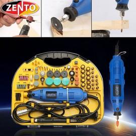 Máy khoan, mài, khắc mini 211 chi tiết Zento JS10B-211