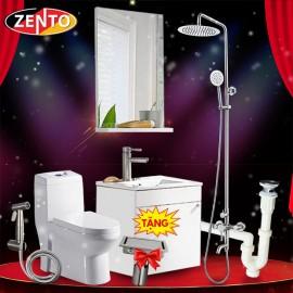 Combo 6 thiết bị vệ sinh Zento BS05