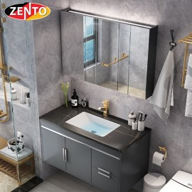 Bộ tủ, chậu âm, bàn đá, tủ gương Lavabo ZT-LV8953