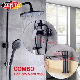Combo sen cây & vòi lavabo Classic Series KM121