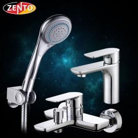 Cặp đôi sen tắm và vòi lavabo Zento CB025