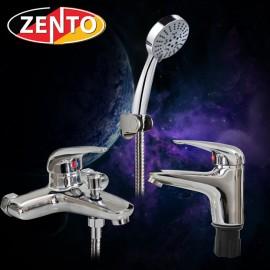 Cặp đôi sen tắm và vòi lavabo Zento CB018