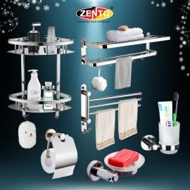 Bộ 6 phụ kiện phòng tắm inox Zento HA4613
