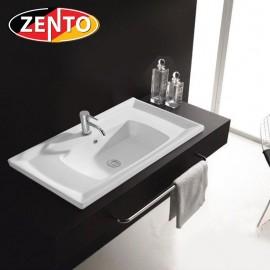 Chậu lavabo dương vành Zento LV8156