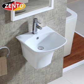 Chậu lavabo treo tường Luxury Zento LV500D-450 (5200C)