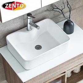 Chậu lavabo đặt bàn Zento LV6089 (480x380x130)