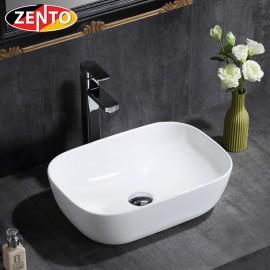 Chậu lavabo đặt bàn Zento LV6145 (510x410x140mm)