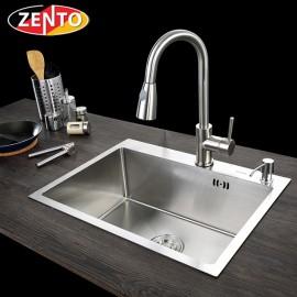 Chậu rửa bát inox 1 hố zento HD6045-304N (new)