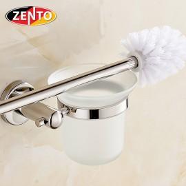 Bộ chổi cọ & kệ đỡ toilet inox Zento HA4644
