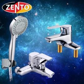 Cặp đôi sen tắm và vòi lavabo Zento CB015