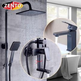 Combo sen cây và vòi lavabo Classic Series KM120