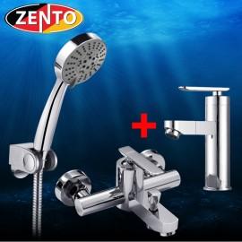 Cặp đôi sen tắm và vòi lavabo Melody series CB021