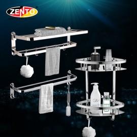 Bộ 3 phụ kiện phòng tắm inox Zento HA4611