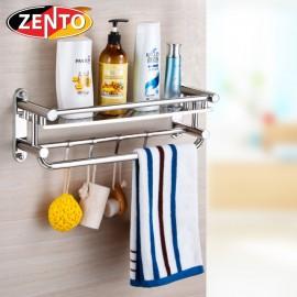 Giá để đồ kết hợp treo khăn inox Zento HA4657