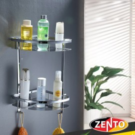 Giá góc 2 tầng inox Zento ZT-SV6205-57