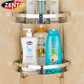 Giá góc 2 tầng inox Zento ZT-SV6205-55