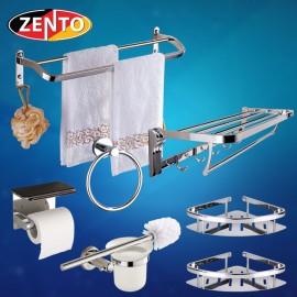 Bộ 7 phụ kiện phòng tắm inox Zento HA4610
