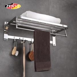 Giá để đồ kết hợp treo khăn inox304 Zento HA4645