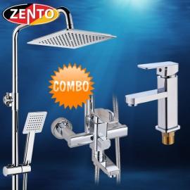 Combo sen cây vòi lavabo Zento KM106