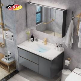 Bộ tủ, chậu âm, bàn đá, tủ gương Lavabo ZT-LV8955