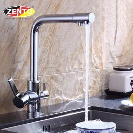 Vòi rửa bát 3 đường nước Zento ZT2091-1 (New)