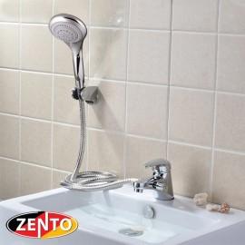 Bộ vòi chậu lavabo kết hợp sen tắm nóng lạnh Zento ZT2043