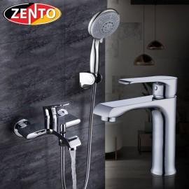 Cặp đôi sen tắm và vòi lavabo Melody series  CB014