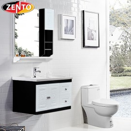 Bộ tủ, chậu, kệ gương Lavabo  ZT-LV124