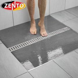 Thoát sàn inox304 Zento ZT758-100 (75x1000mm)