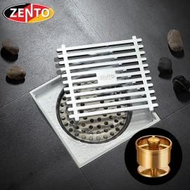 Phễu thoát sàn chống mùi và côn trùng ZT525-1AV (100x100mm)