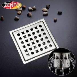 Thoát sàn chống mùi inox Square Zento ZT656-2U (110x110)
