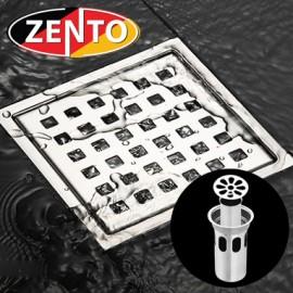 Phễu thoát sàn chống mùi hôi inox Zento ZT656