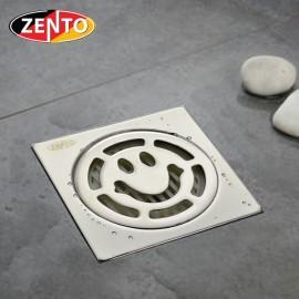 Phễu thoát sàn chống mùi inox Zento TS132-L (100x100mm)