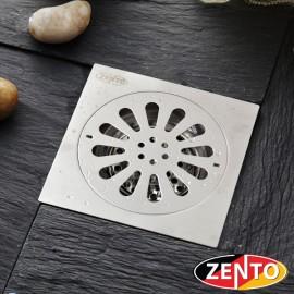 Phễu thoát sàn chống mùi hôi inox Zento TS152-L