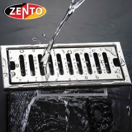 Thoát sàn inox Zento TS202L (100*200mm)