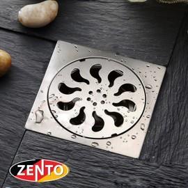 Phễu thoát sàn inox Zento TS200 (200x200mm)