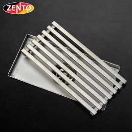 Thoát sàn chống mùi inox304 ZT550-20 (100x200mm)