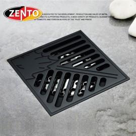 Thoát sàn chống mùi Black series Zento ZT524 (100x100mm)
