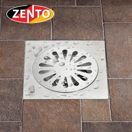 Phễu thoát sàn chống mùi hôi inox Zento TS201-L