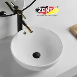 Chậu lavabo đặt bàn Zento LV205 (435x435x175mm)