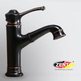 Vòi lavabo nóng lạnh Classic Series ZT2132-B (Dây rút)