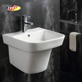 Chậu lavabo treo tường Luxury Zento LV500K